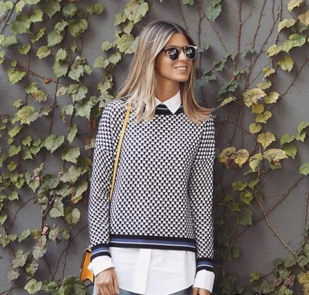 Интересные свитера Street Style (трафик)