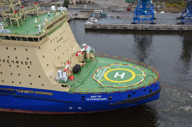 Российский радиоведущий осудил присвоение имени Черномырдина ледоколу