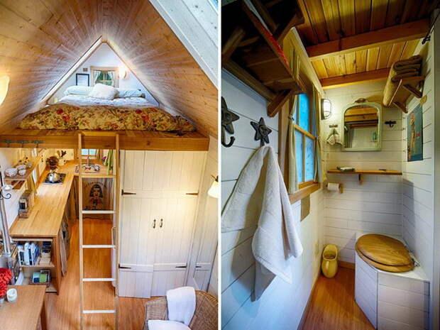 Люди, которые живут в очень маленьких домиках