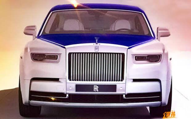 Новый Rolls-Royce Phantom – первые фотографии