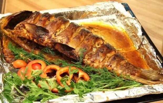 Запеченная рыба в духовке 2