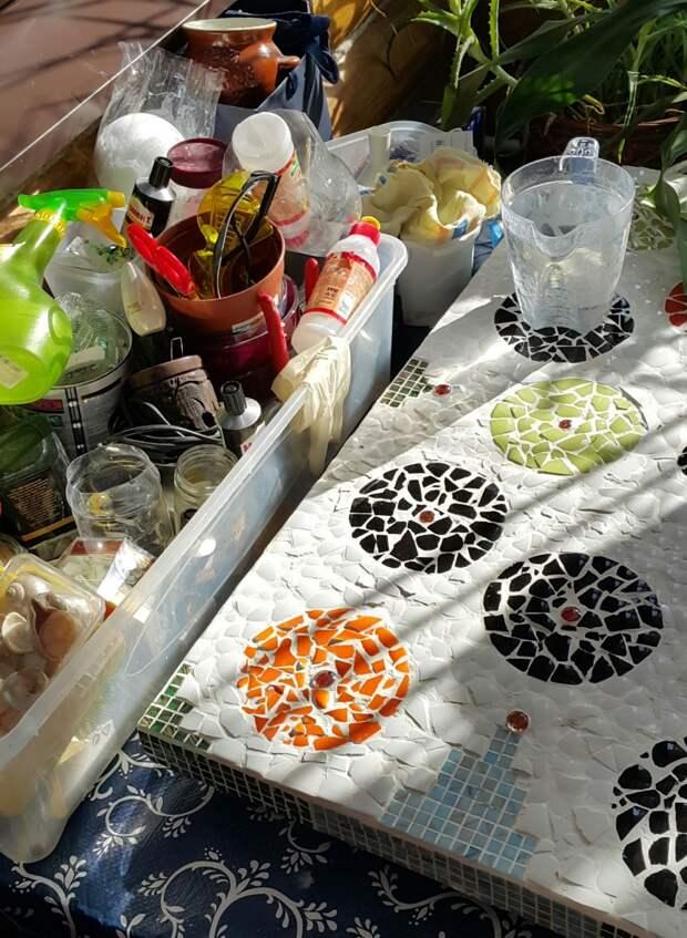 Керамическая мозайка DIY