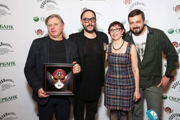 Серебренников получил «Золотую маску» как лучший режиссёр