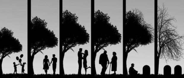 Притча о силе любви и беспомощности разлуки