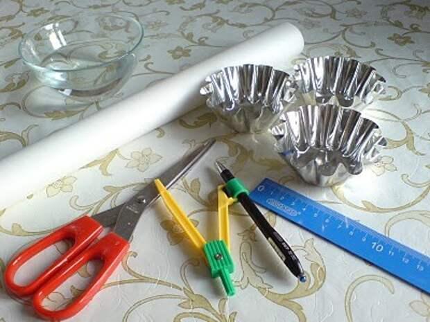 Как дома сделать гофрированные формочки для выпечки кексов