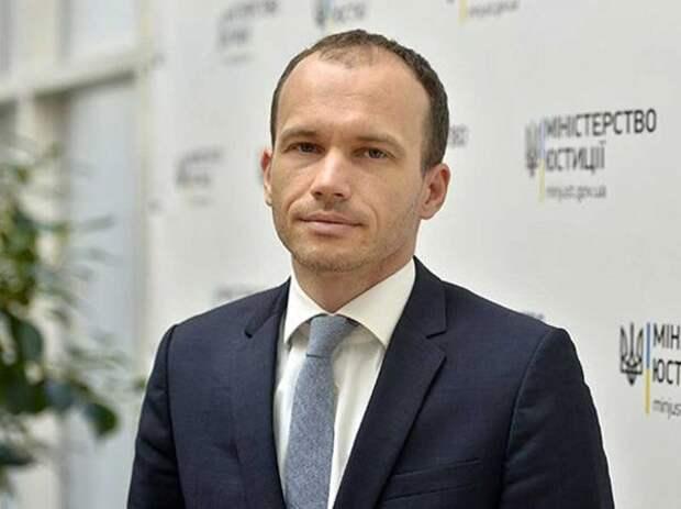 НаУкраине завели дело наглаву Минюста Дениса Малюську