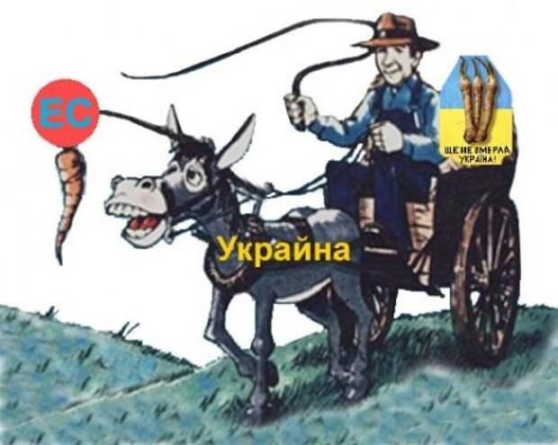 Украина-ЕС, или Киеву шантажировать Москву нечем