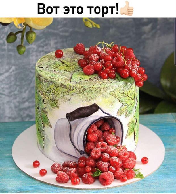 Вот это торт! Это целое произведение искусства!