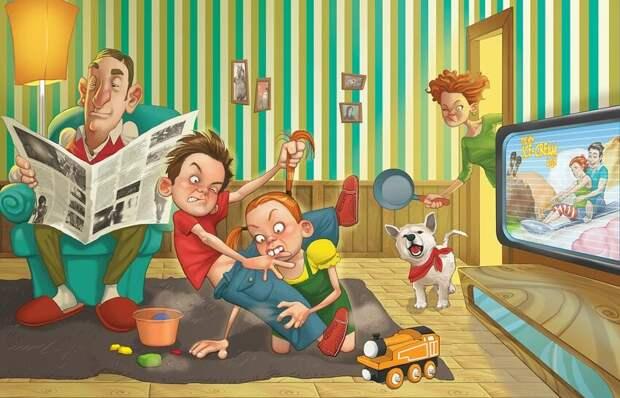 Уморительные истории от людей, которым не приходится скучать в семье