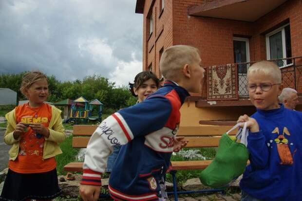 Детский дом в Новосибирске