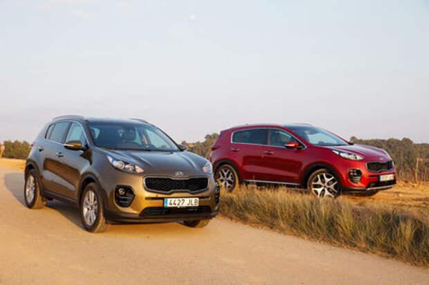 Новый Kia Sportage и конкуренты: сравниваем комплектации