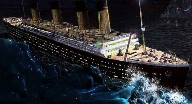 «Титаник» погиб не от столкновения с айсбергом.