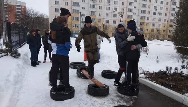 В Подольске сформировали две сборные команды для участия в «Юнармейских стартах»