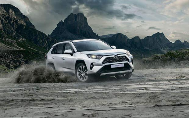 Новый Toyota RAV4 — начался прием заказов