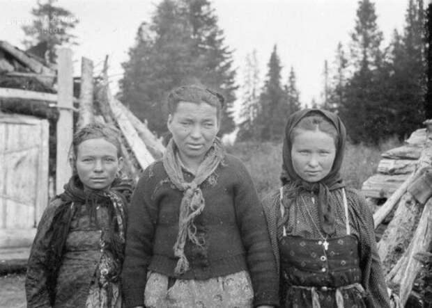 Крестьяне в Архангельской губернии, 1910 год женщины, интересное, история