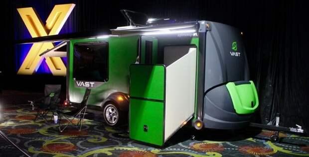 Первый трейлер от американской компании SylvanSport - Vast авто, дома на колесах, кемпинг, отдых, прицепы, трейлер, трейлеры, фото