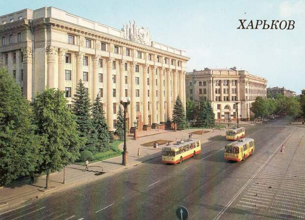20 век в цвете. Улицы СССР 30 лет назад