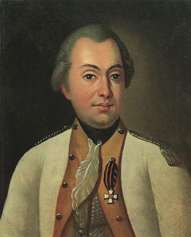Портрет М. И. Кутузова в мундире полковника Луганского пикинерного полка. Неизвестный художник, 1770-е годы.jpg
