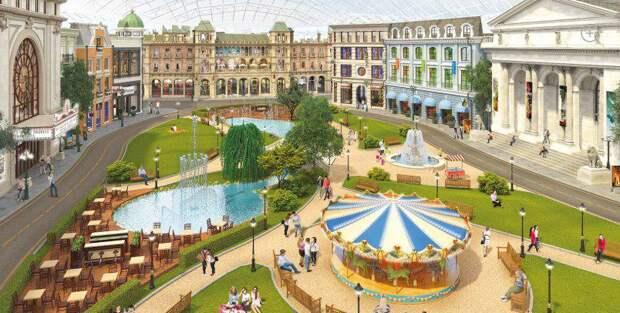 Собянин рассказал о ходе строительства тематического парка «Остров мечты»/mos.ru