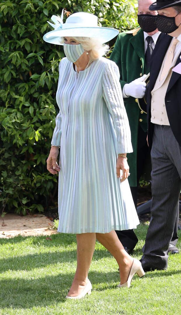Камилла Паркер-Болуз на Royal Ascot, 2021