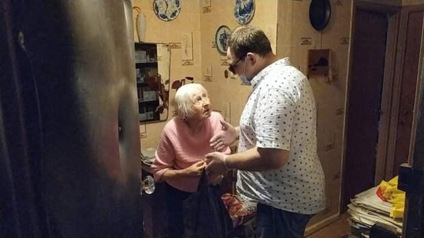 Житель Выхина доставил нуждающимся более 400 продуктовых наборов