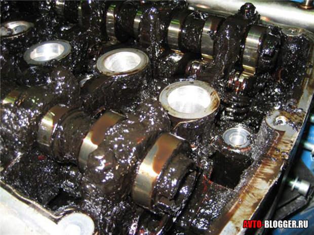 Плохое масло в двигателе