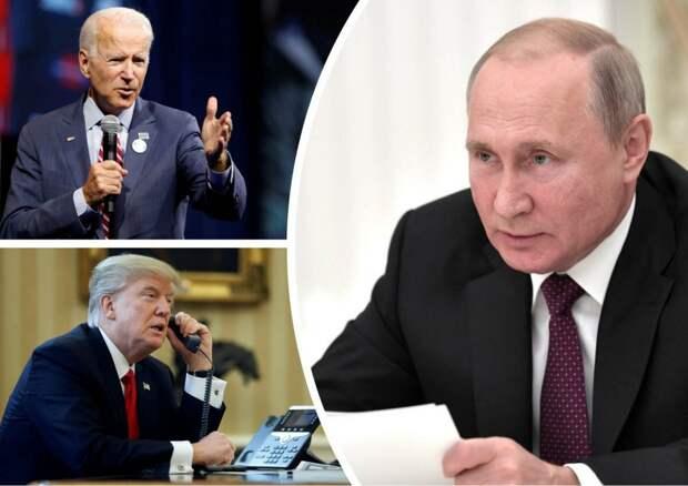 Как звонок Байдена Путину «растоптал» демократию в России…