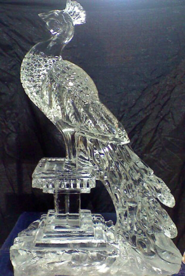 Холодное великолепие: 20 ошеломительных скульптур из снега и льда
