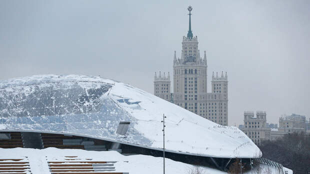 В Москве 25 января ожидаются дожди