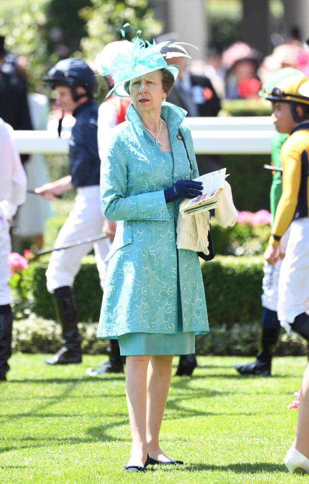 Принцесса Анна на Royal Ascot, 2016