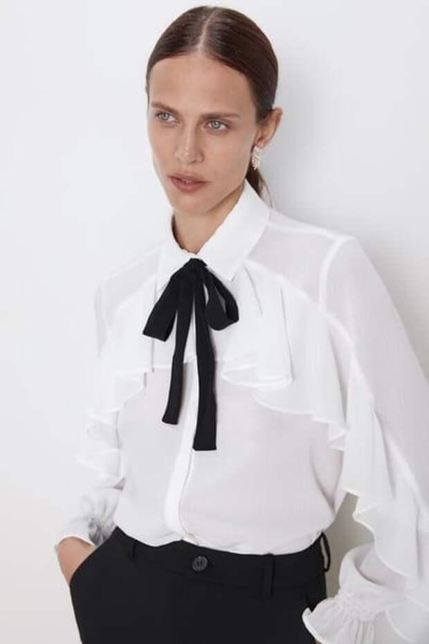 какую блузку сшить необычную
