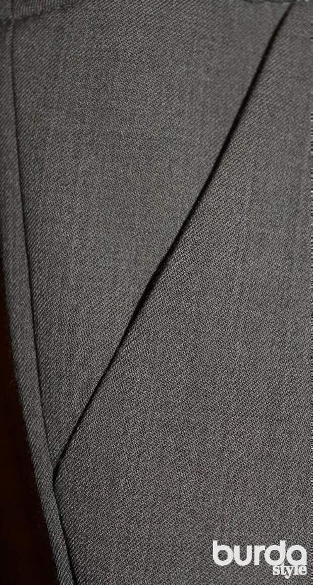 Боковой карман с отрезным бочком