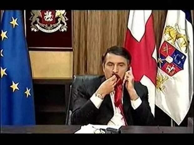 Первый парень на деревне? Саакашвили удивил новым имиджем (скриншот)