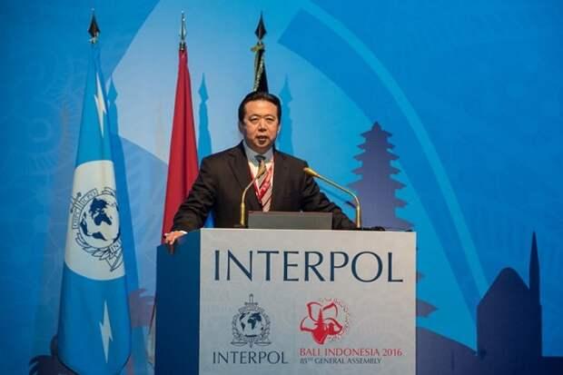 Президент Интерпола пропал в Китае
