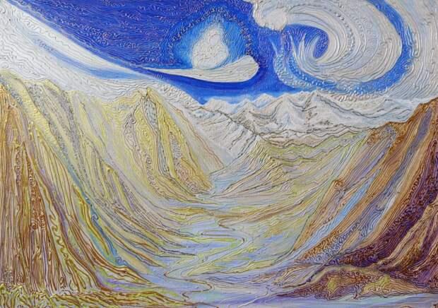 На улице Степана Супруна откроется выставка картин  о горах