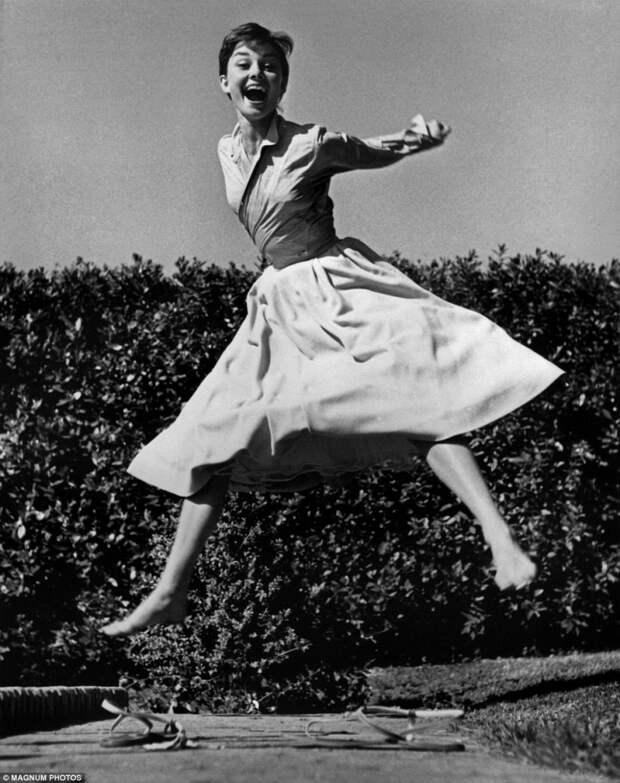 Британская актриса Одри Хепбёрн