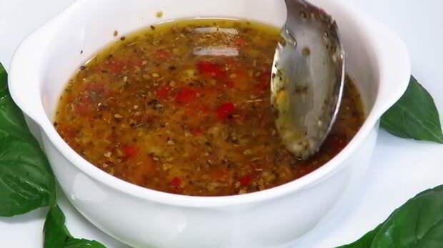 САЛАТНЫЙ ДЕНЬ. Итальянская заправка для салата
