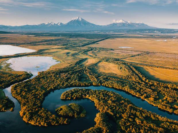 Камчатка и река Паратунка