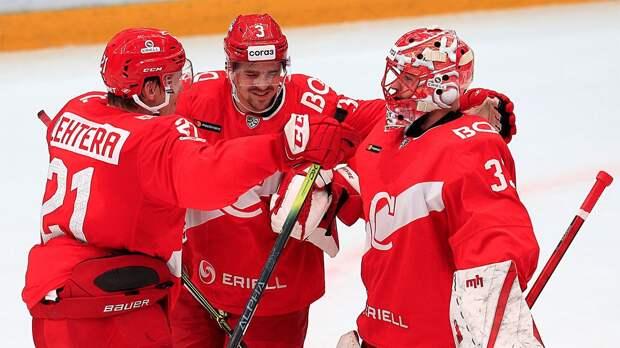 СКА проиграл «Спартаку» в домашнем матче КХЛ
