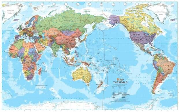 worldmaps04 Карты мира—как они выглядят в разных странах