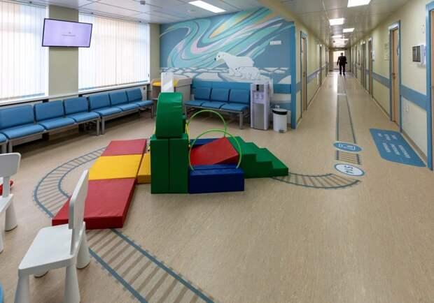 На Часовой открылась детская клиника