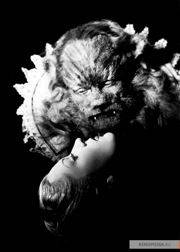 """Жан Маре и Жозетт Дэй в фильме """"Красавица и чудовище"""" (1946)"""