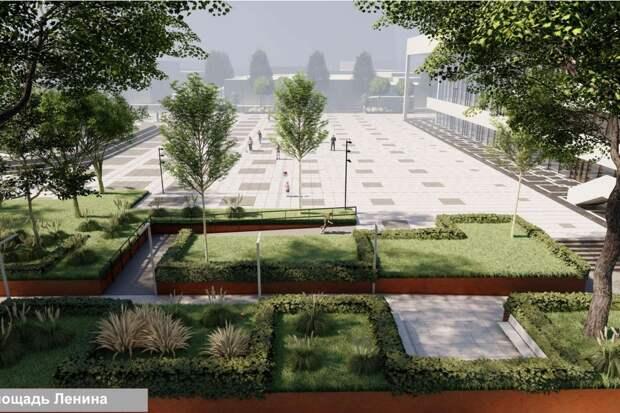 Площади Ленина и Куйбышева в Симферополе станут современнее