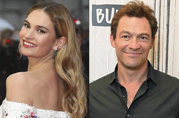 """Лили Джеймс впервые прокомментировала мимолетный роман с женатым актером Домиником Уэстом: """"Есть много что сказать"""""""