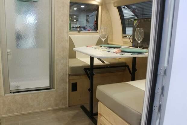 Внутренности Micro Max авто, дома на колесах, кемпинг, отдых, прицепы, трейлер, трейлеры, фото