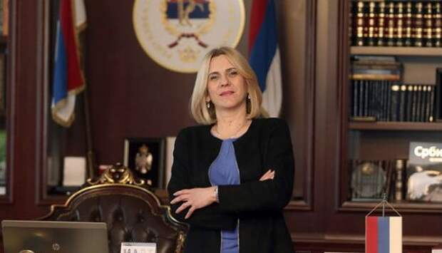 Новым президентом Республики Сербской стала Желька Цвиянович