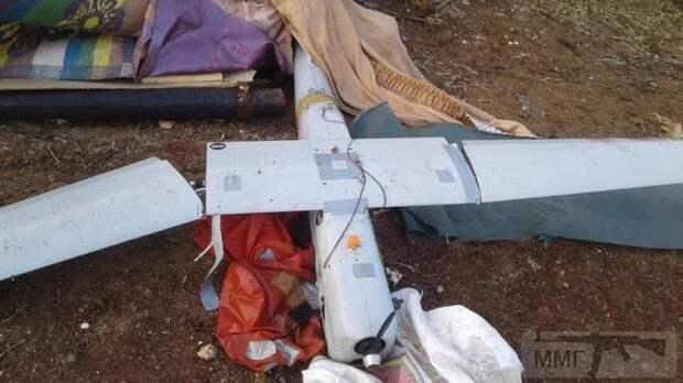 В Сирии сбили российский разведывательный беспилотник