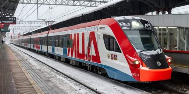 Собянин открыл железнодорожную станцию Внуково после реконструкции. Фото: В. Новиков, mos.ru