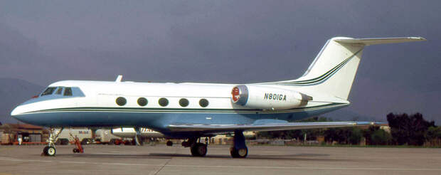 Grumman_Gulfstream_II_N801GA_1