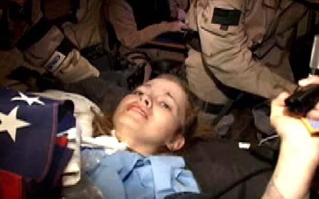 Кадр из видеоматериала, снятого во время проведения операции по освобождению Джессики Линч.jpg